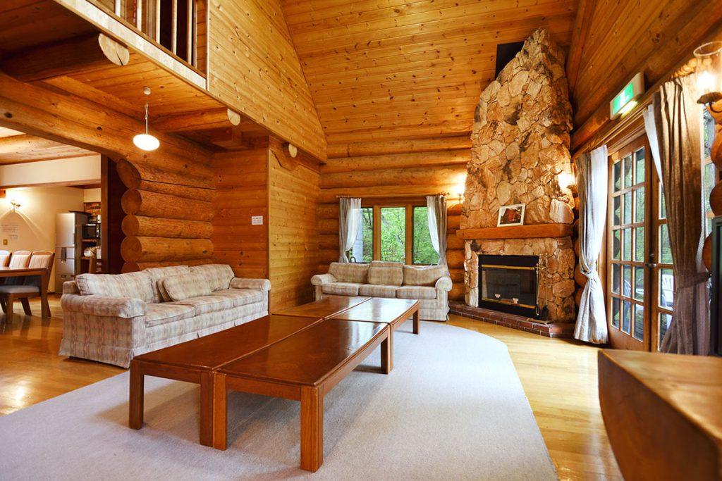 Big log house images 02