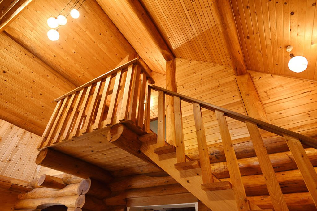 Big log house images 07