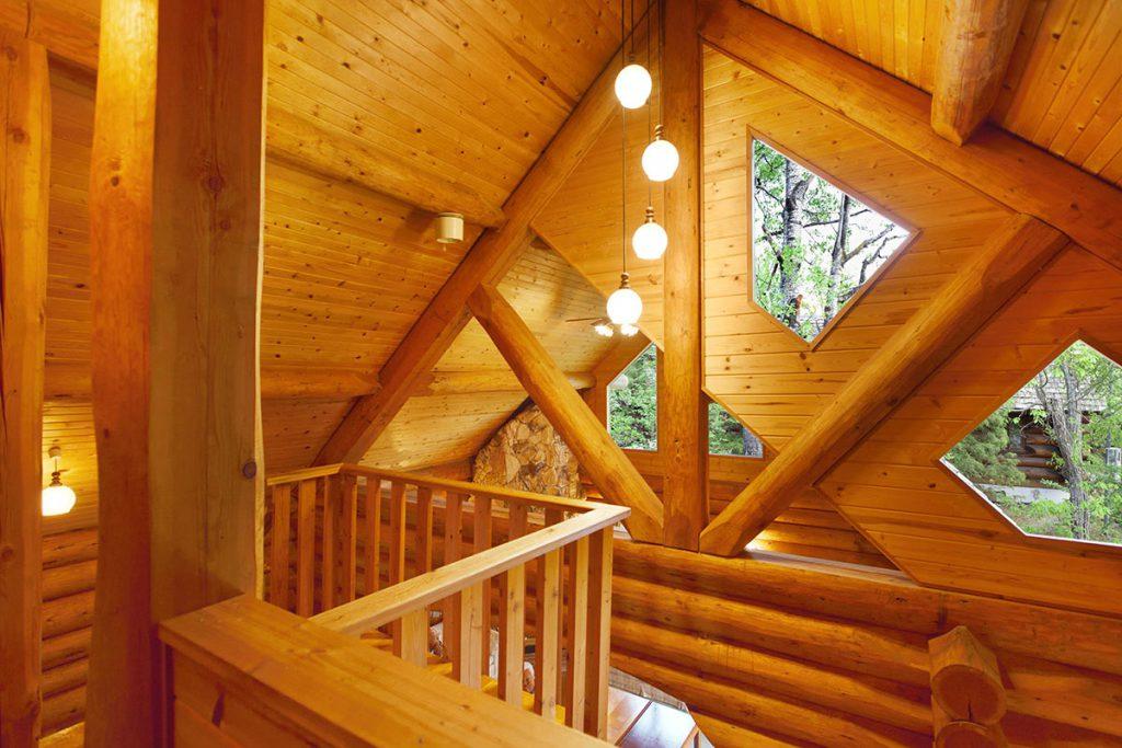 Big log house images 09
